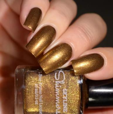 Nagellack Trends: Goldfingers