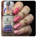 Essence pastel ombre Top Coat 27 blurry up!